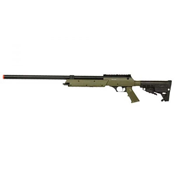Well Airsoft Rifle 1 Well MB13 Airsoft Sniper Rifle - OD Green