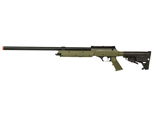 Well  1 Well MB13 Airsoft Sniper Rifle - OD Green