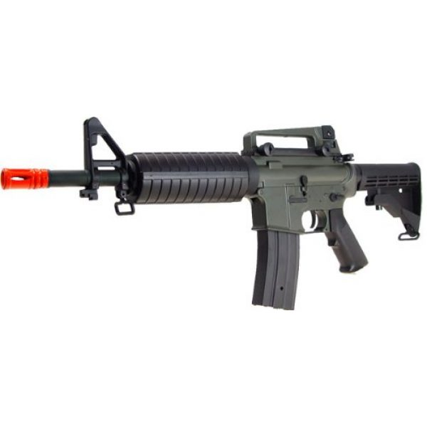 Jing Gong (JG) Airsoft Rifle 2 JG aeg-m733/retractable stock nicads/charger included-metal g-bx(Airsoft Gun)