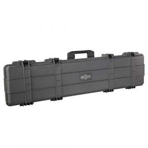 SURE LOCK Rifle Case 1 SureLock Security Renegade Wheeled Gun Case Single 53 in. Waterproof