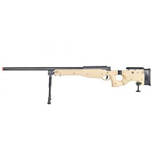 Well Airsoft Rifle 1 Well MB08 Airsoft Sniper Rifle W/Bipod - Tan