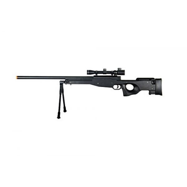 Double Eagle Airsoft Rifle 1 Double Eagle Full Metal L96 Bolt Action Sniper Rifle w/Scope & Bipod