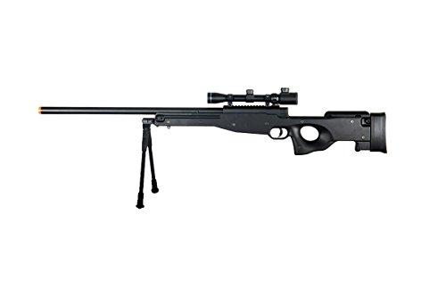 Double Eagle  1 Double Eagle Full Metal L96 Bolt Action Sniper Rifle w/Scope & Bipod