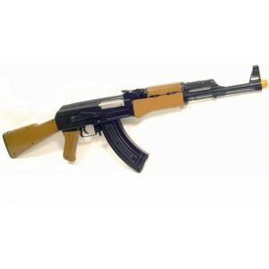 BBTac Airsoft Rifle 1 ak 47 style airsoft electric gun completed kit with magazine & bb(Airsoft Gun)