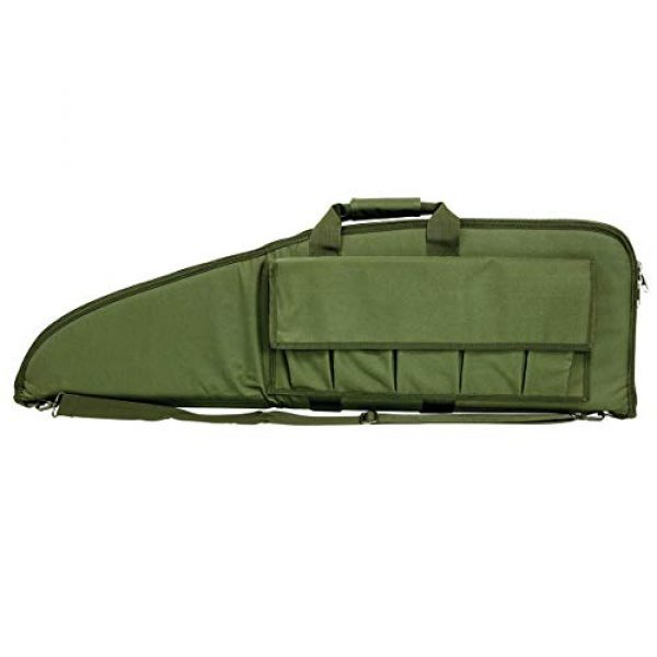 NcSTAR Rifle Case 4 NcSTAR VISM Deluxe Padded Rifle Case with External Magazine Pockets