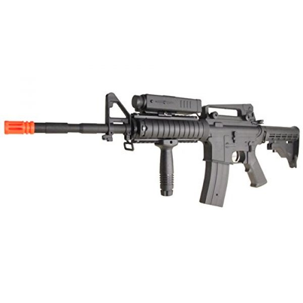 P-Force Airsoft Rifle 2 p-force 032 m4ris full metal electric w/battery & charger (metal gb)(Airsoft Gun)
