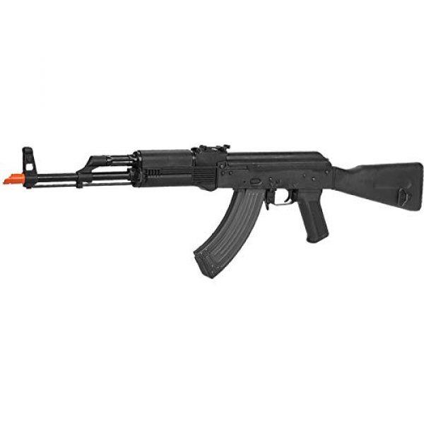 Lancer Tactical Airsoft Rifle 3 Lancer Tactical Airsoft Lonex AK Blowback AEG Rifle Black