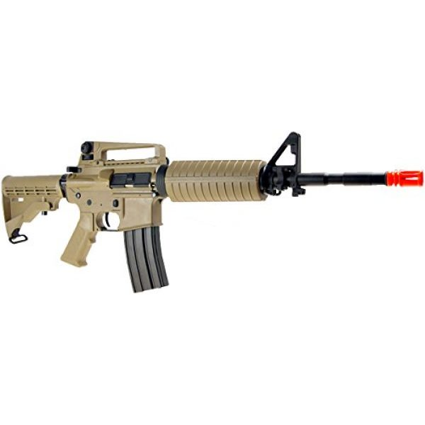 SRC Airsoft Rifle 3 src aeg-m4a1 semi/full auto nimah/charger included-metal gb/tan(Airsoft Gun)