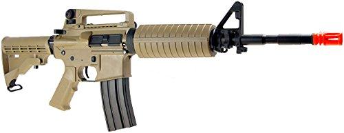 SRC  3 src aeg-m4a1 semi/full auto nimah/charger included-metal gb/tan(Airsoft Gun)