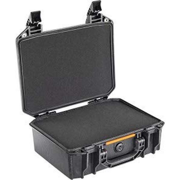 Pelican Pistol Case 2 Vault by Pelican - V200 Pistol Case with Foam (Black)