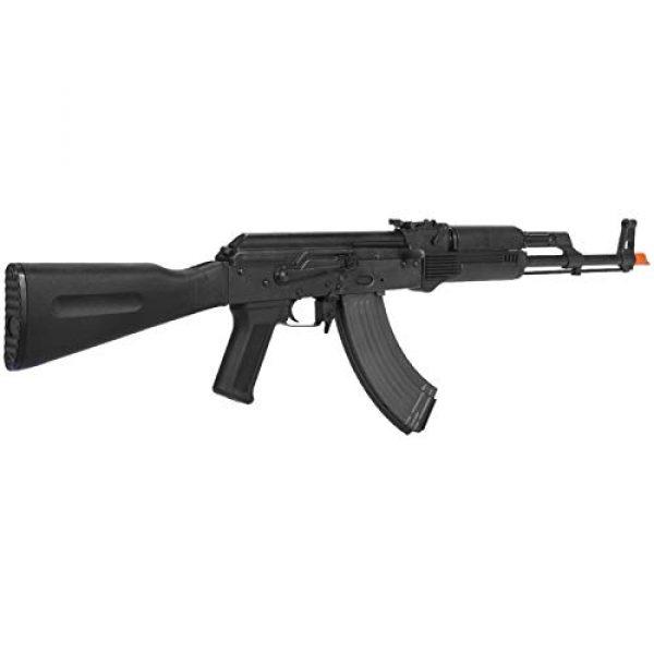 Lancer Tactical Airsoft Rifle 4 Lancer Tactical Airsoft Lonex AK Blowback AEG Rifle Black