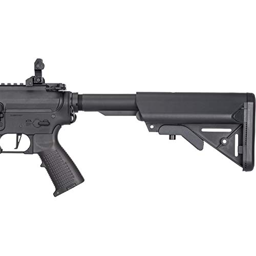 Lancer Tactical  4 Lancer Tactical Classic Army Skirmish Series Delta 10 M4 Airsoft AEG Rifle Black 350 FPS