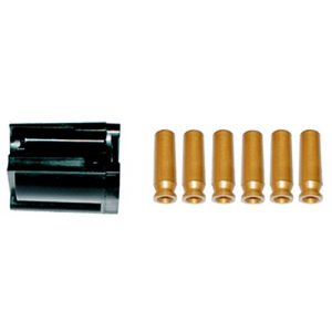 UHC Airsoft Gun Magazine 1 UHC UA314 and UA315 Airsoft Rifle 5 Round Rotary Magazine with Shells