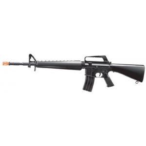 Velocity Airsoft Airsoft Rifle 1 Velocity Airsoft Spring M16 Rifle FPS-225 Airsoft Gun, Black