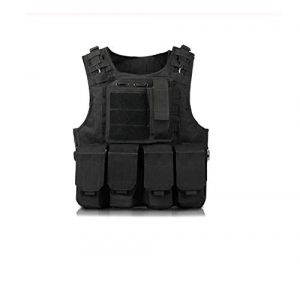 nanacha Airsoft Tactical Vest 1 nanacha Vest Children Military Tactical Vest Body Armor Hunting Jungle Outdoor Equipment