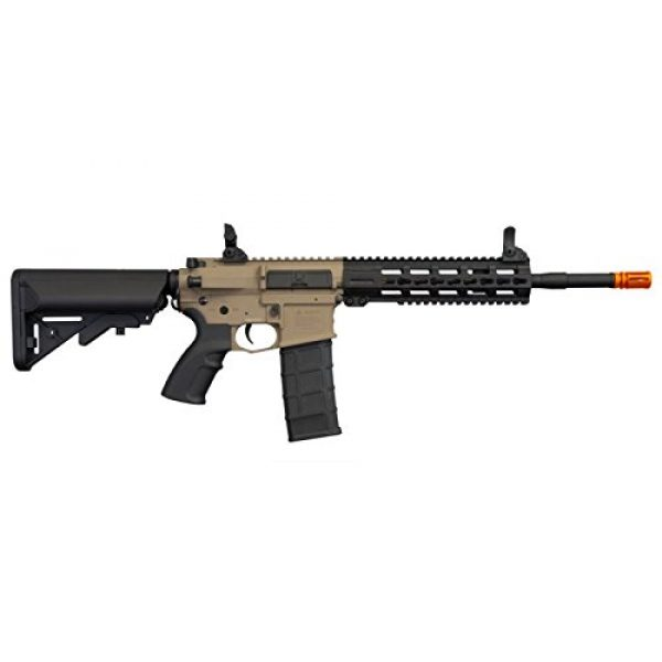 """Hsa Airsoft Rifle 4 Hsa Tippmann Commando 14.5"""" 6mm AEG Carbine (Battery & Charger) - TAN"""