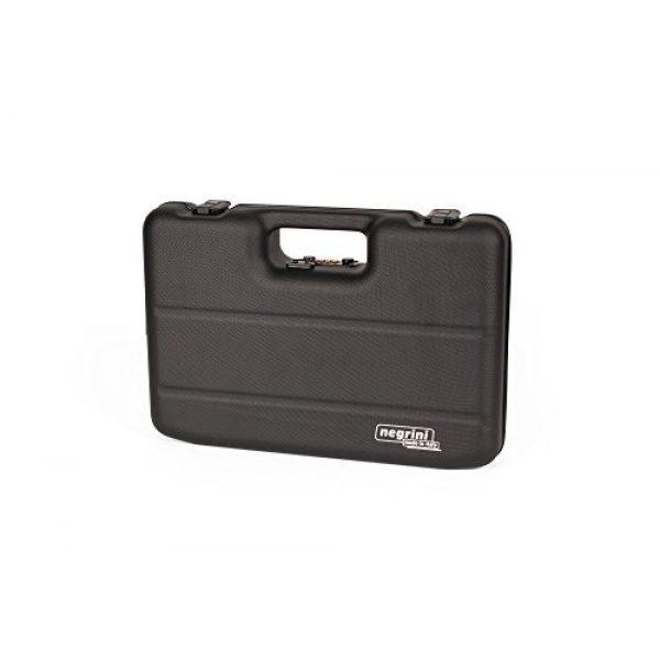 Negrini Cases Pistol Case 7 Negrini Cases 2023UTS/4839 Handgun Case (1 Gun), Black/Black