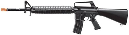 Airsoft  1 M16a1 Style Airsoft Spring Powered Rifle 1/1 Scaled