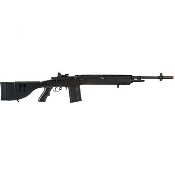 "Lancer Tactical Airsoft Rifle 2 Lancer Tactical LT-732 DMR Stock 45"" M14 SOCOM Airsoft AEG Rifle Black"