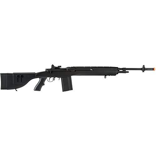 "Lancer Tactical  2 Lancer Tactical LT-732 DMR Stock 45"" M14 SOCOM Airsoft AEG Rifle Black"