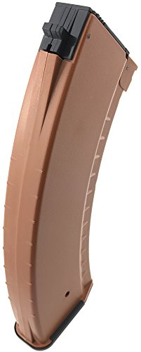 SportPro  5 SportPro 550 Round Polymer AKM Style High Capacity Magazine for AEG AK47 AK74 Airsoft - Brown