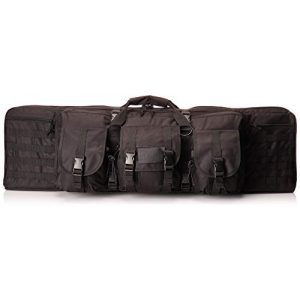 """NcSTAR Rifle Case 1 NcSTAR 36"""" Double Carbine Padded Weapons Case, Black CVDC2946B-36"""