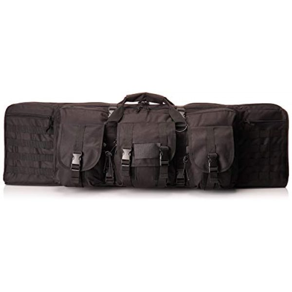 "NcSTAR Rifle Case 1 NcSTAR 36"" Double Carbine Padded Weapons Case, Black CVDC2946B-36"