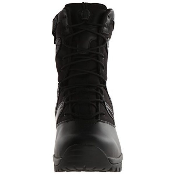 BLACKHAWK Combat Boot 2 BLACKHAWK 83BT19BK-140M Ultralight Side Zip Boot, Medium/Size 14, Black