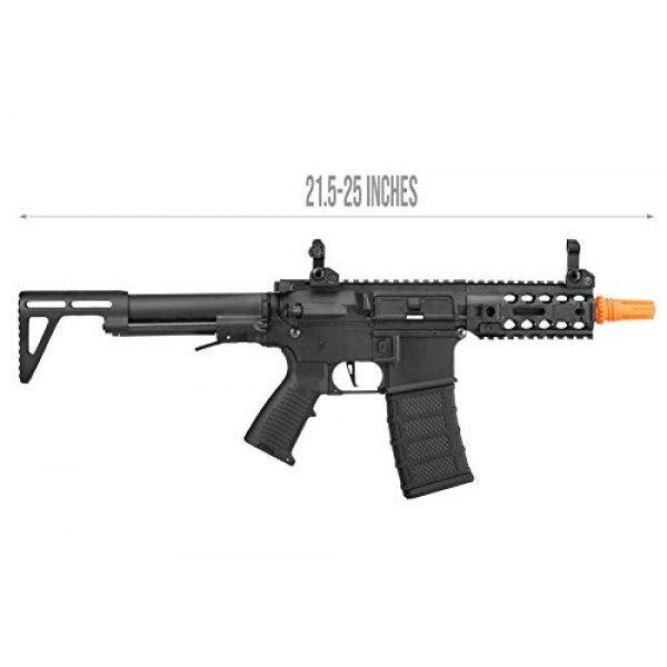 Lancer Tactical Airsoft Rifle 2 Lancer Tactical Classic Army AR4 SBR Light AEG CQB Airsoft Rifle Black 360 FPS