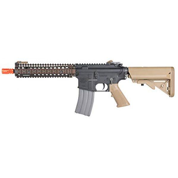 Wearable4U Airsoft Rifle 4 Umarex MK18 Avalon Black/Tan AEG Electric Airsoft Rifle Gun with Wearable4U Bundle