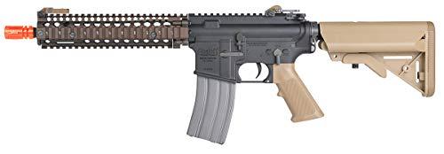 Wearable4U  4 Umarex MK18 Avalon Black/Tan AEG Electric Airsoft Rifle Gun with Wearable4U Bundle