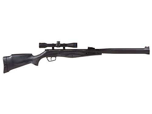 Stoeger  4 Stoeger S4000-E Black Synthetic Suppressed Rifle/Scope Combo air Rifle