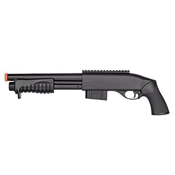 Double Eagle Airsoft Shotgun 1 Double Eagle Tact Pump Action Spring Airsoft Shotgun FPS 335