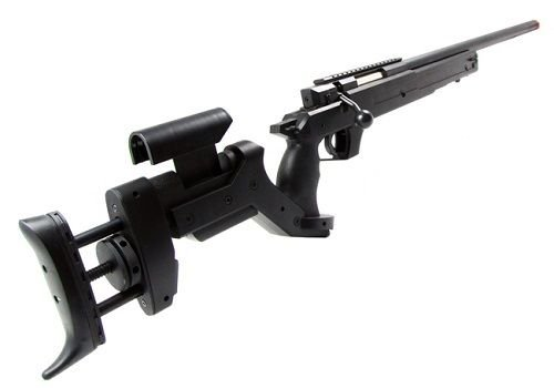 Well  3 Well MB05A AWM APS2 Spring Bolt Action Airsoft Sniper Rifle