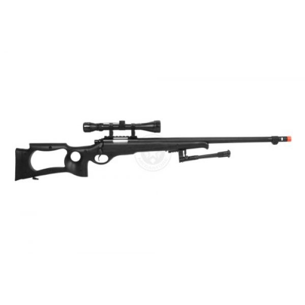 Well Airsoft Rifle 4 wellfire mb10d bolt action sniper rifle w/ 3-9x40 scope and bipod(Airsoft Gun)