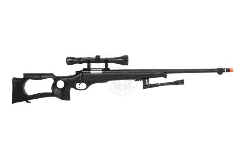 Well  4 wellfire mb10d bolt action sniper rifle w/ 3-9x40 scope and bipod(Airsoft Gun)