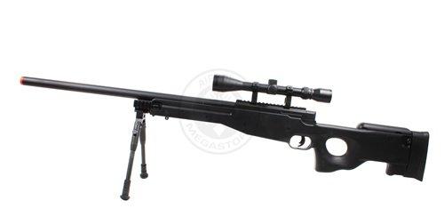 Well  2 Wellfire mk96 bolt action awp sniper rifle w/ 3-9x40 scope and bipod(Airsoft Gun)