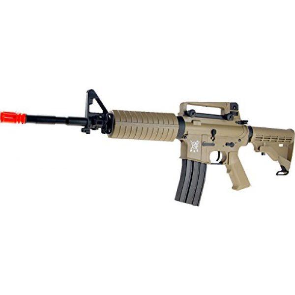 SRC Airsoft Rifle 2 src aeg-m4a1 semi/full auto nimah/charger included-metal gb/tan(Airsoft Gun)