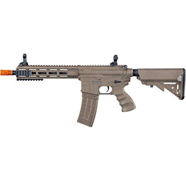 Tippmann Airsoft Airsoft Rifle 2 Tippmann Tactical Recon AEG CQB 9.5in Airsoft Rifle Tan