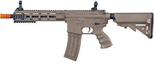 Tippmann Airsoft  2 Tippmann Tactical Recon AEG CQB 9.5in Airsoft Rifle Tan