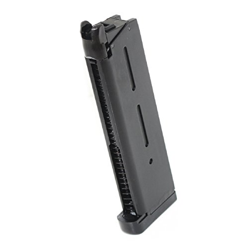 Airsoft Shopping Mall  1 Airsoft Shooting Gear ARMY 27rd Mag Magazine For R26 1911 GBB Pistol Black