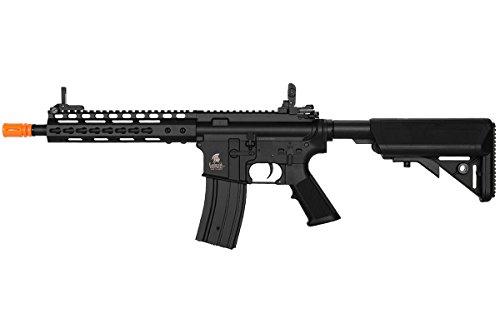 "Lancer Tactical  1 Lancer Tactical LT14C M4 10"" Keymod Carbine AEG Airsoft Rifle (Black)"