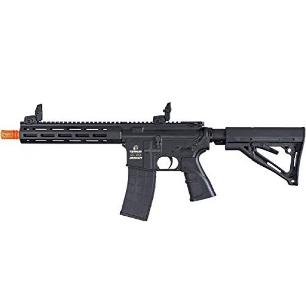 Tippmann Airsoft Airsoft Rifle 1 Tippmann Omega CQB - 12-Gram Airsoft Rifle - Black