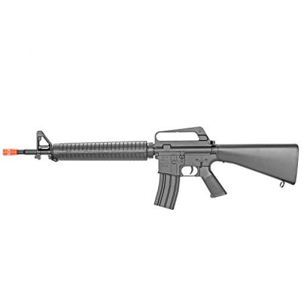 BBTac Airsoft Rifle 7 BBTac M16-A1 Vietnam Model Spring Action Assault Rifle, Black (BT-M16A1_(a))