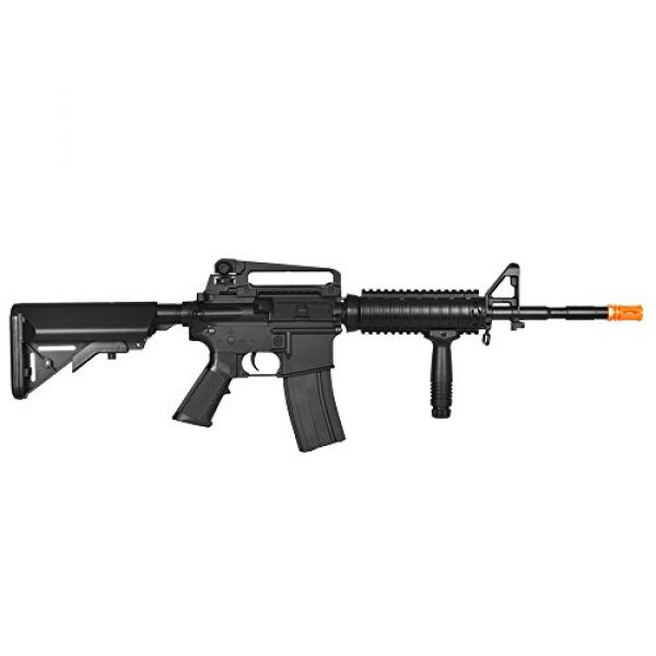 Lancer Tactical Airsoft Rifle 4 Lancer Tactical LT-04B SOPMOD M4 AEG Metal Gear (Black LT-04B)