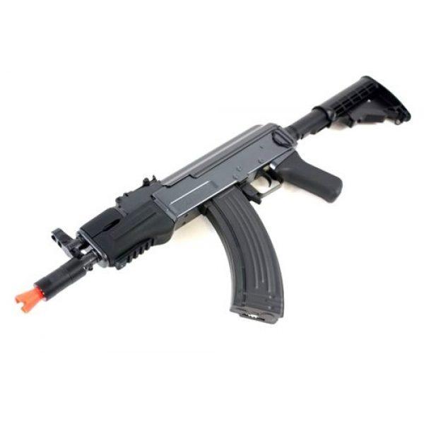 DE Airsoft Rifle 1 DE AK47-HS [Hybrid Spetsnaz] Metal Body Fully Automatic Electric AEG Rifle - Newest Enhanced Model