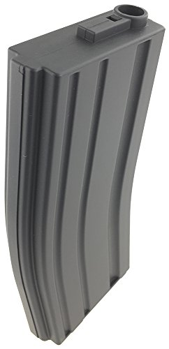 SportPro  5 SportPro 140 Round Metal Medium Capacity Magazine for AEG M4 M16 Airsoft - Gray