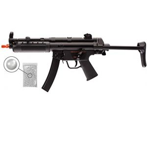 Wearable4U Airsoft Rifle 1 Umarex HK Heckler&Koch MP5 A5 Elite Series AEG Electric Automatic 6mm BB Rifle Airsoft Gun with Wearable4U Bundle