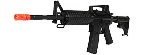 CYMA  4 CYMA M4A1 AEG Semi/Full Auto Electric Airsoft Rifle Gun Ver. 2 Gearbox High Capacity Magazine FPS 340