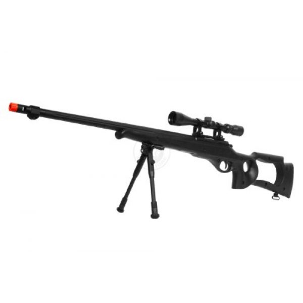 Well Airsoft Rifle 1 wellfire mb10d bolt action sniper rifle w/ 3-9x40 scope and bipod(Airsoft Gun)